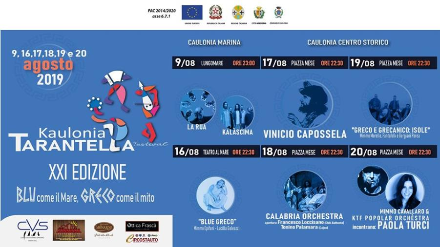 images Kaulonia Tarantella Festival, si chiude il 20 agosto