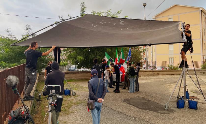 """images Calabria Film Commission: al via le riprese de """"L'altra via"""", il film ambientato a Catanzaro sullo sfondo degli anni '90"""