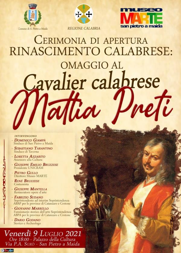 images Con l'omaggio a Mattia Preti riapre le porte il Museo Marte di San Pietro a Maida