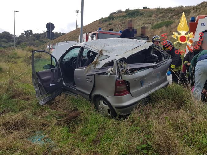 images Incidente su via Izzi De Falenta, zona sud di Catanzaro: tre i feriti