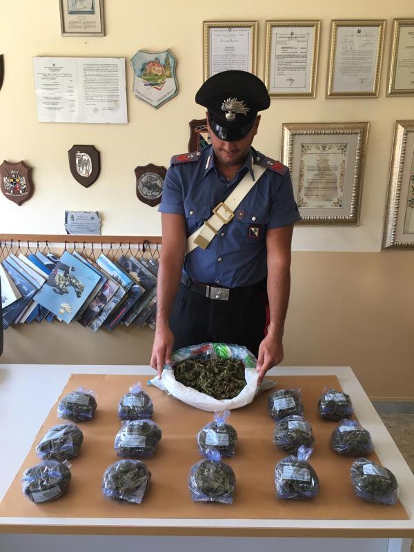 images Strongoli,  arrestato un giovane con 1,2 chili di marijuana