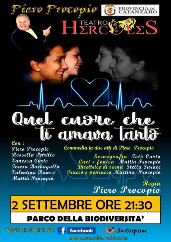 """images  """"Settembre al Parco"""" è anche teatro con la comicità di Piero Procopio"""