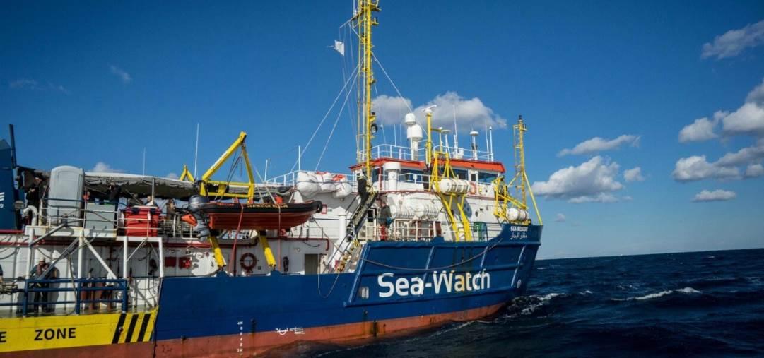 images Sea Watch, la Commissione Pari opportunità di Legacoop con la capitana Carola Rackete