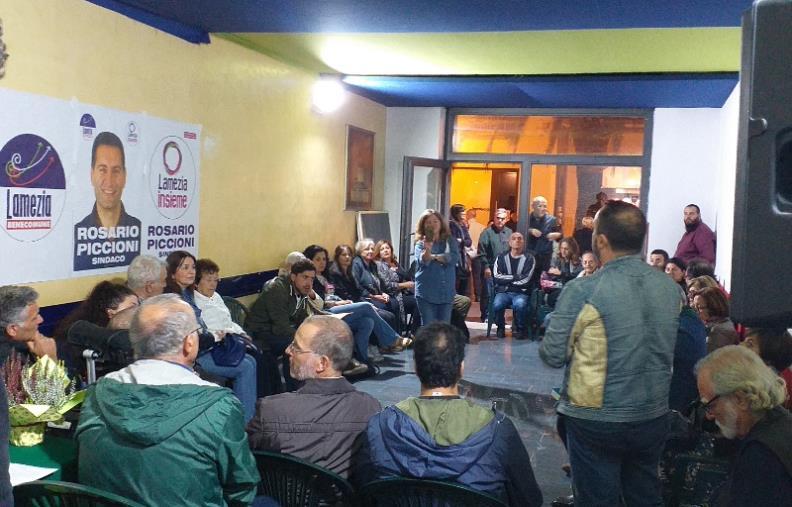 images Elezioni a Lamezia, focus su teatri e cultura al punto d'incontro di Rosario Piccioni