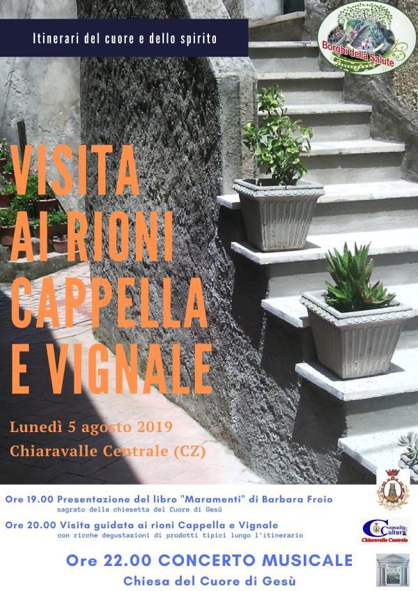 images Chiaravalle Centrale, cultura e gastronomia nei rioni Cappella e Vignale