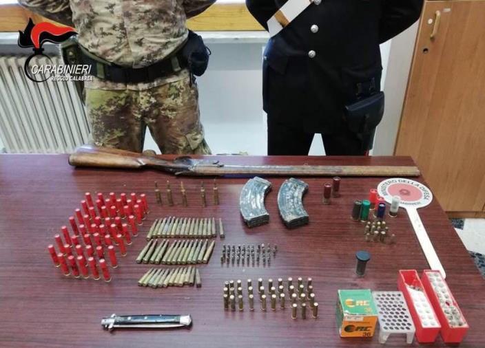 images Sorpreso con armi e munizioni: arrestato a Crotone