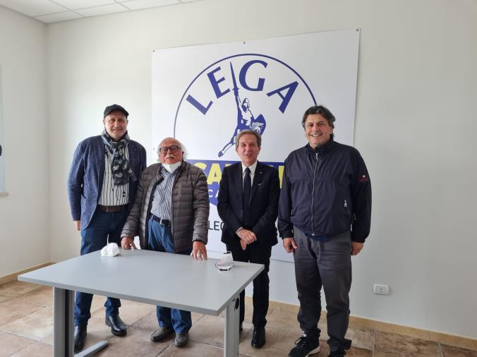 images La Lega di Catanzaro cresce sul territorio: l'avv. Calderazzo aderisce al partito di Salvini
