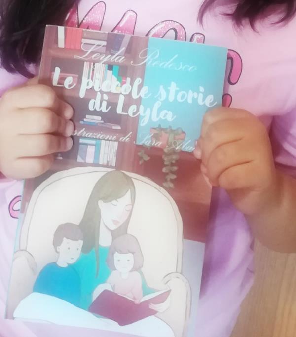 """images Catanzaro. Leyla Redesco a 6 anni pubblica le sue prime """"piccole storie"""""""