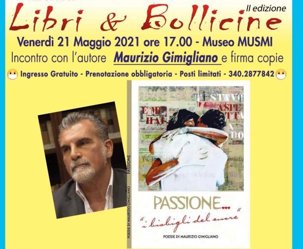 """images """"Libri & Bollicine"""" a Catanzaro. Venerdì al Musmi ospite  Maurizio Gimigliano"""