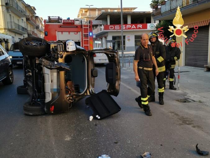 images Guardavalle, incidente tra automobili: due feriti