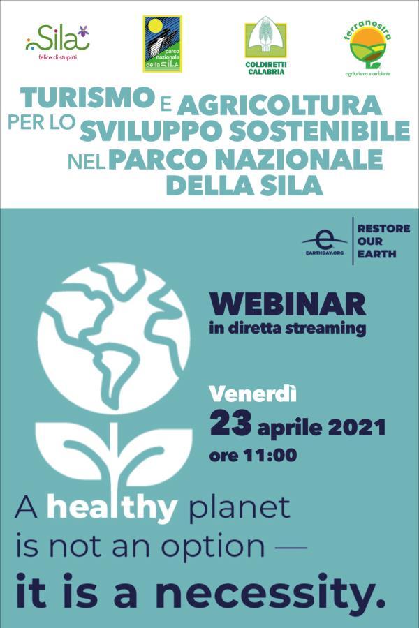 images Giornata Mondiale della Terra: domani webinar sulla sostenibilità firmato Ente Parco Nazionale della Sila
