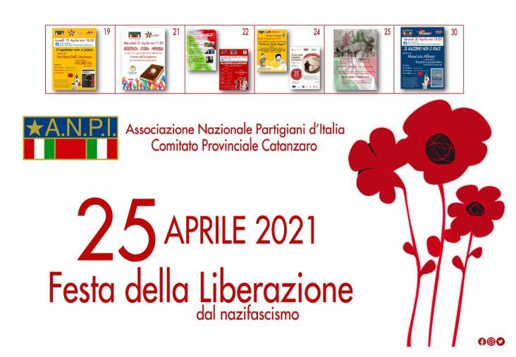 """images """"Verso il 25 aprile"""". Tutti gli appuntamenti Anpi nella provincia di Catanzaro"""