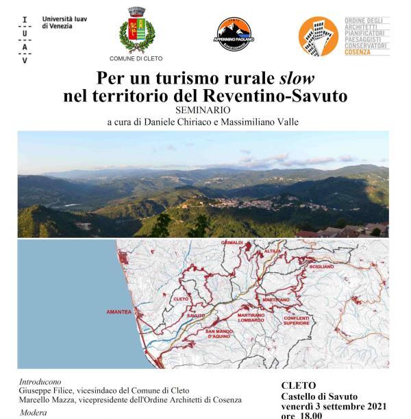 """images Cleto. Nel suggestivo scenario del castello di Savuto, il seminario """"Per un turismo rurale slow"""""""