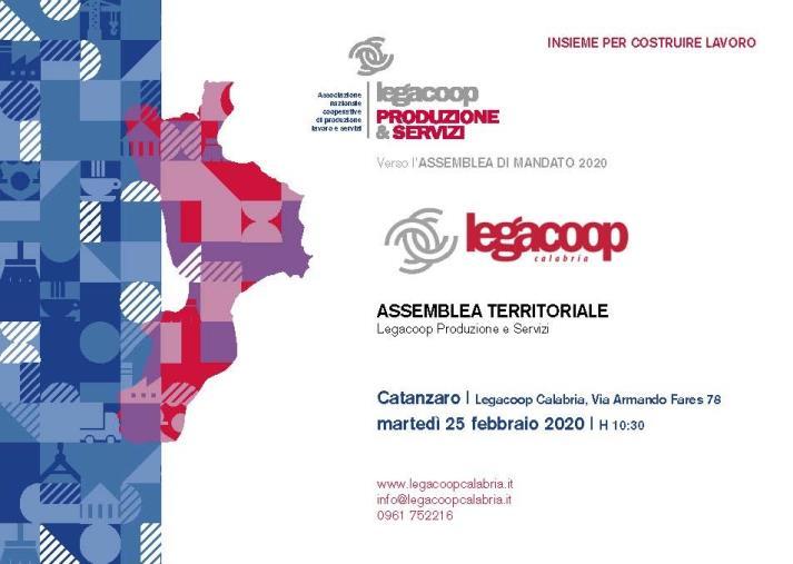 images Domani assemblea regionale di Legacoop Produzione e Servizi Calabria