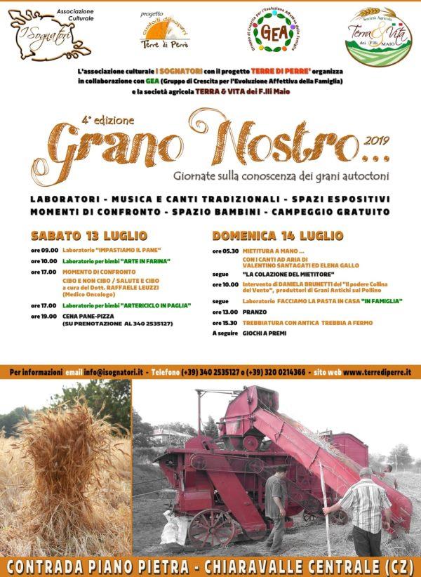 """images Chiaravalle, parte sabato la IV edizione di """"Grano nostro"""""""