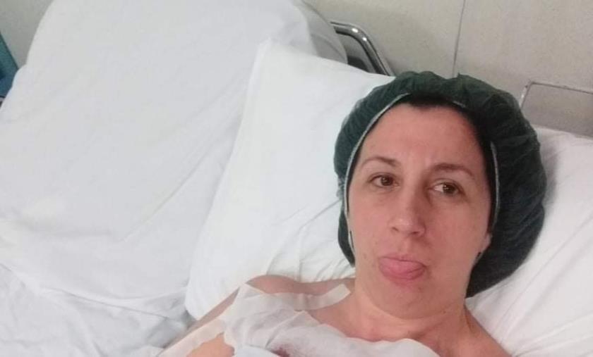 """images Sanità. Il grido di dolore e di speranza di Loredana, paziente guarita al S. Anna: """"Salvare la struttura"""""""
