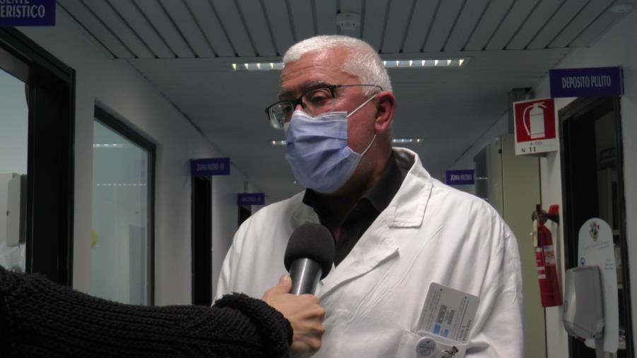 """images Il dott. Cosco: """"Siamo arrivati anche oltre il 100% di occupazione dei posti letto"""""""