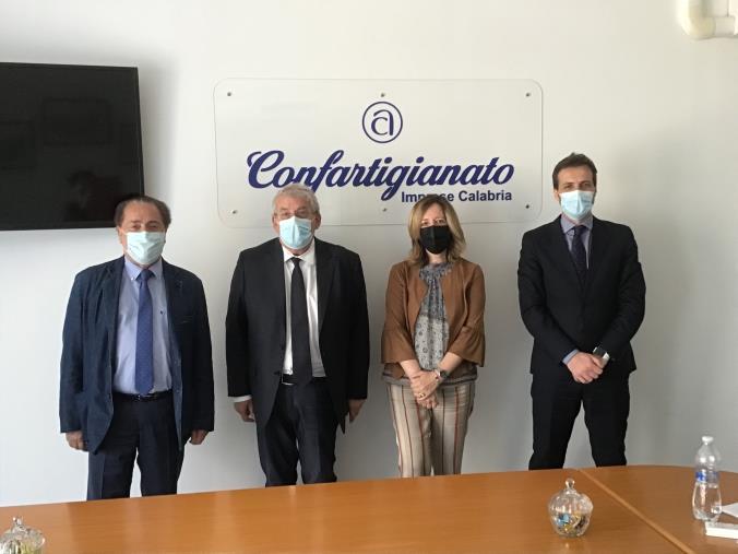 images Regionali. Confartigianato Calabria avvia il confronto con i candidati alla presidenza e incontra il sen. Ernesto Magorno