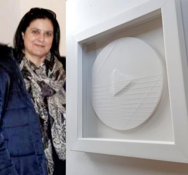 images Taverna. Il Museo Civico si arricchisce con due opere di Maria Credidio