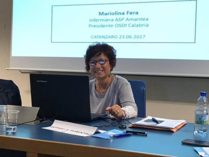 """images Quote """"rosa"""" in aumento, la segretaria Ugl Salute Cosenza Mariolina Fera dice sì a """"Cambiamo"""""""