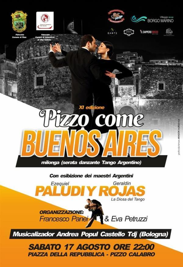 images Pizzo come Buenos Aires 2019, questa sera si balla a ritmo di Milonga