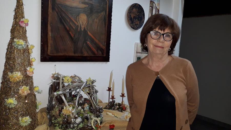 A Reggio Calabria l'estro artistico di Nuccia Montalto riaccende la magia delle feste