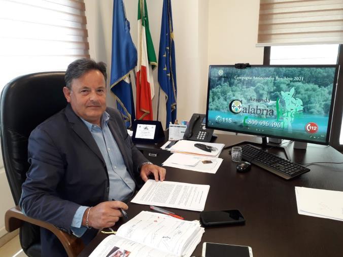 """images Emergenza incendi. Oliva (Calabria Verde): """"Ecco i numeri delle forze antincendio in campo"""""""