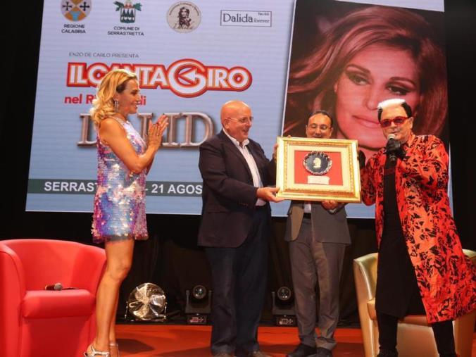 images A Serrastretta la Regione omaggia la grande artista Dalida