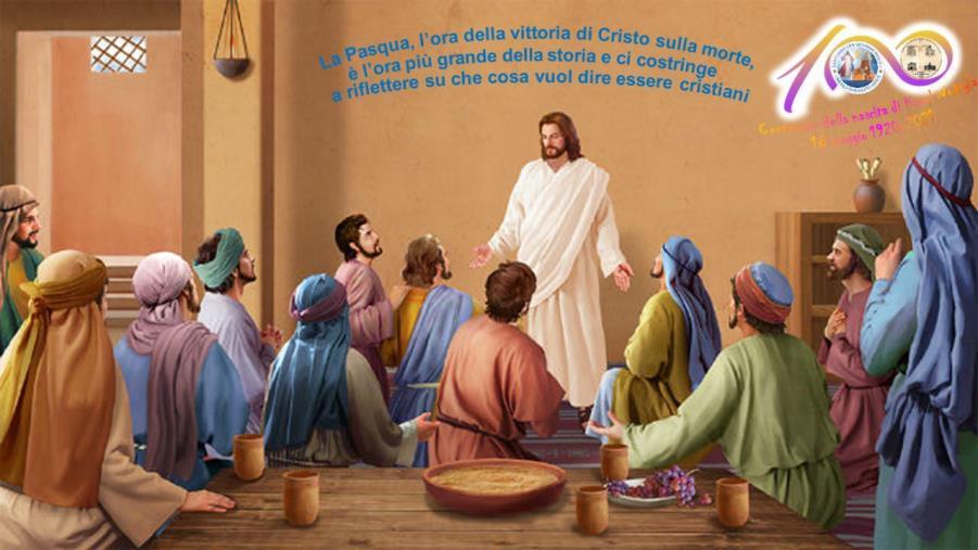 """images La riflessione. Don Fiozzo: """"La Pasqua ci interpella su che cosa vuol dire essere cristiani"""""""