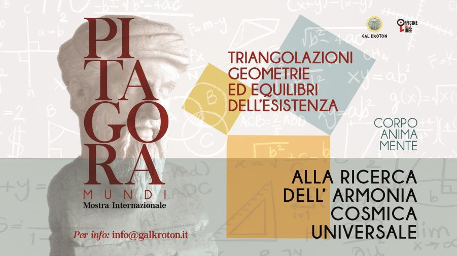 """images Presentata """"Pitagora Mundi"""", l'iniziativa del Gal Kroton e Officine delle Idee dedicata al filosofo greco"""