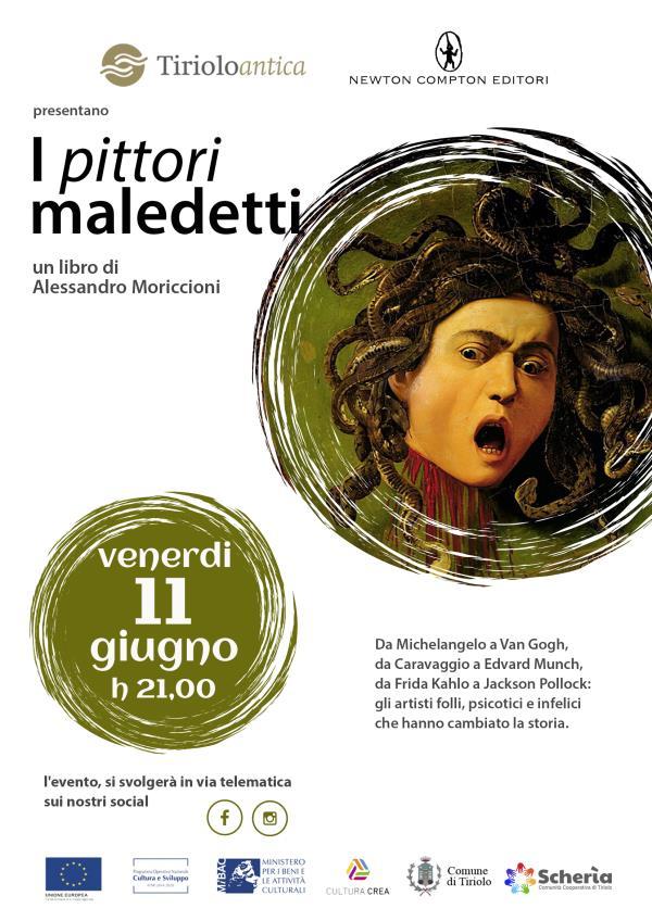 """images Domani la presentazione de """"I pittori maledetti"""" di Moriccioni, sui canali social di Tiriolo Antica"""