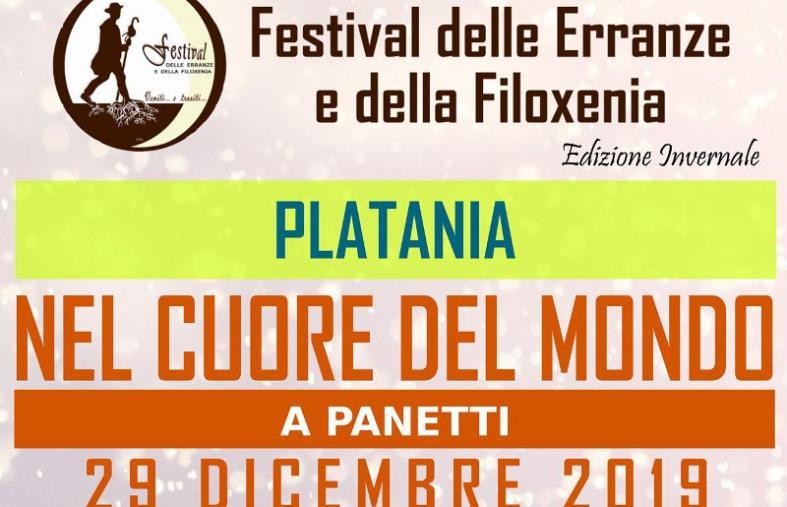images A Platania il Festival delle Erranze e della Filoxenia. Domani giornata ricca di emozioni