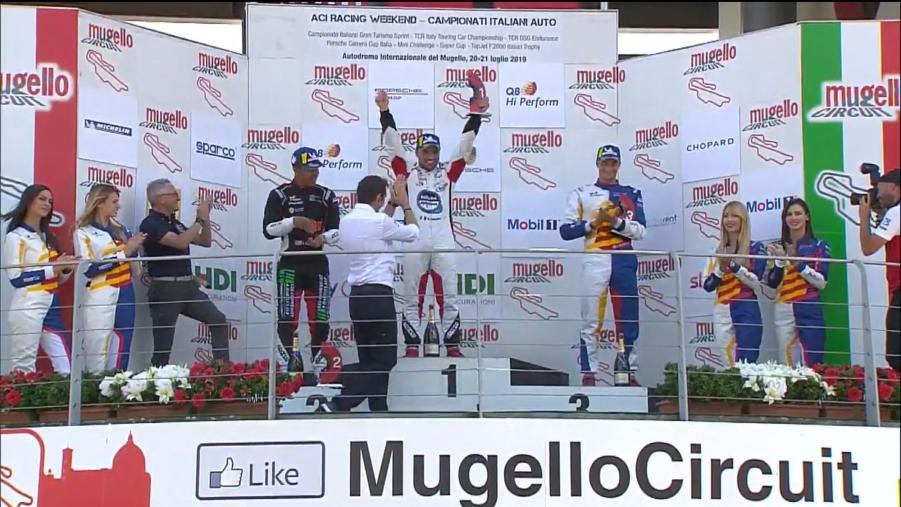 images Carrera Cup Italia, exploit di Iaquinta al Mugello