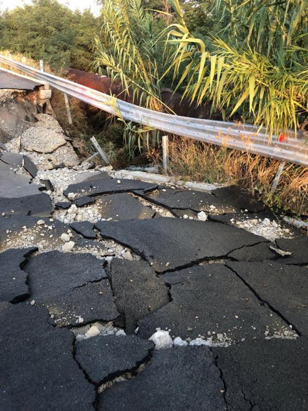 images Ponte crollato a Cropani: oggi il tavolo tecnico in Prefettura
