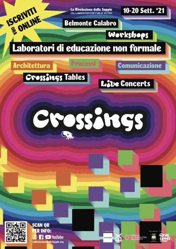 """images A Belmonte Calabro fino al 20 settembre workshop, laboratori e convivialità con 'Crossings 2021"""""""
