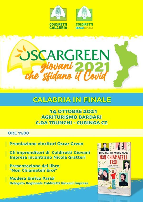 """images Coldiretti """"Premio Oscar Green 2021"""": giovedì gran finale regionale con la presenza del Procuratore Gratteri"""