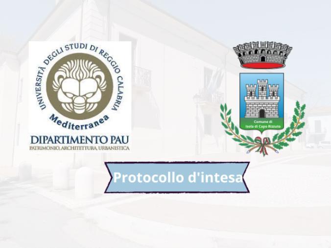 images Isola Capo Rizzuto. Siglato l'accordo con l'Università di Reggio per la valorizzazione del territorio