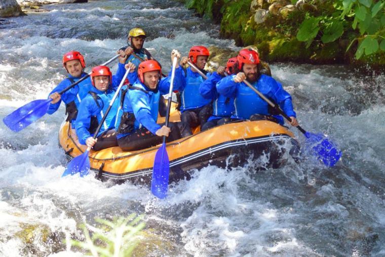 images Rafting, fiume Lao tra i 5 migliori percorsi d'Italia