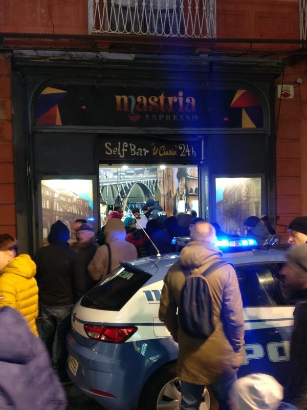 images Rissa fra stranieri nel centro storico di Catanzaro. Interviene la polizia