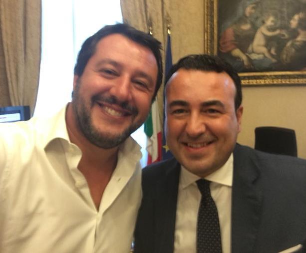 """images Salvini in Calabria, domani a Le Castella. Calabretta (Lega): """"Attenzione nazionale senza precedenti"""""""