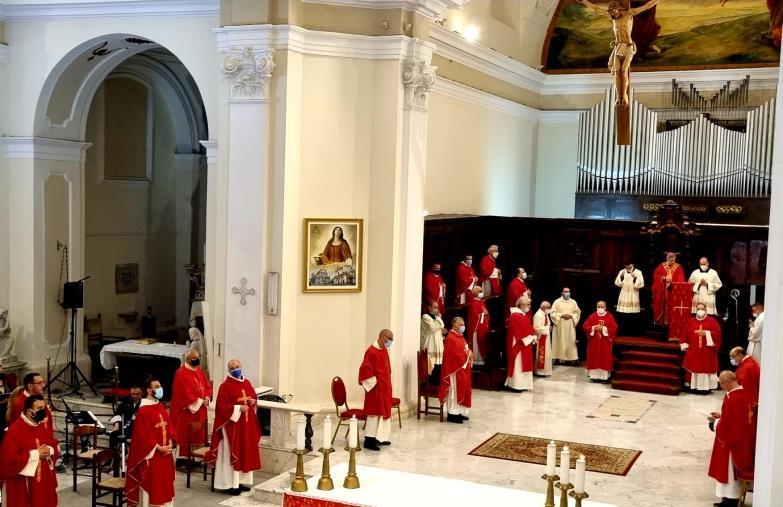 """images Lamezia Terme. Ss. Pietro e Paolo, la riflessioni di Mons. Schillaci su """"Unità, differenza, armonia"""""""