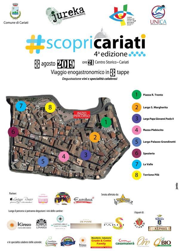 images #scopricariati, giovedì tour enogastronomico tra le otto torri