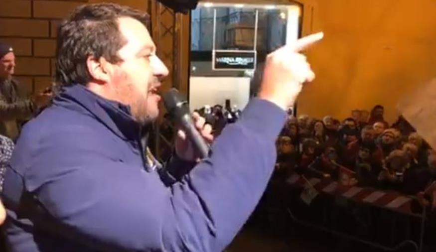 images Regionali. Arriva Salvini a Catanzaro per tirare la volata alla lista Lega nella circoscrizione centro