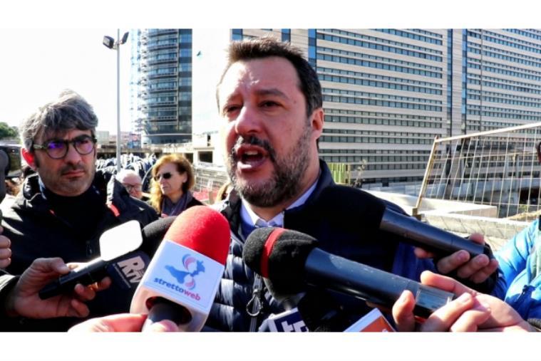 """images Crotone. Alfio Pugliese alla Lega, Salvini: """"Bene le nuove adesioni. Domenica sarò in Calabria"""""""