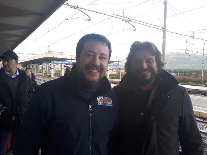 images REGIONALI. Le tappe della visita di Salvini in Calabria