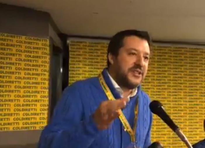 """images Regionali. Salvini a Reggio Calabria: """"Entro una settimana il programma e le liste della Lega"""""""