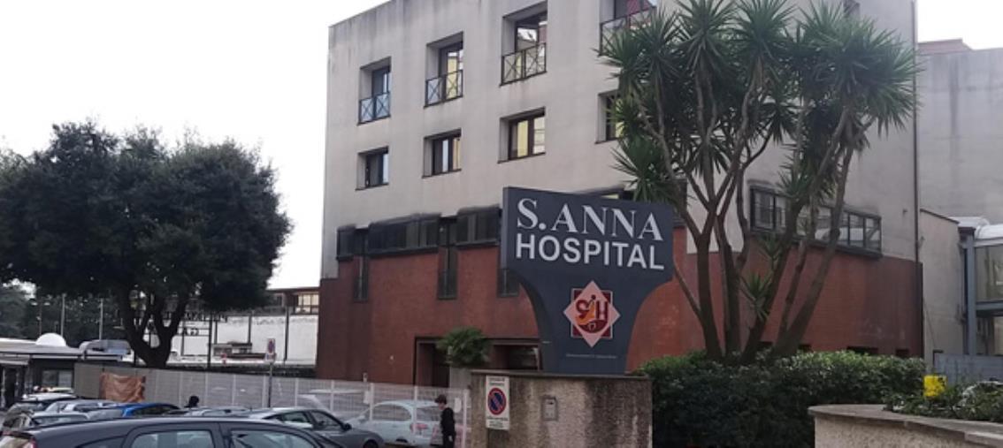 "images Sant'Anna hospital. L'Asfoc preoccupata ""per i pazienti che tornano a casa"""