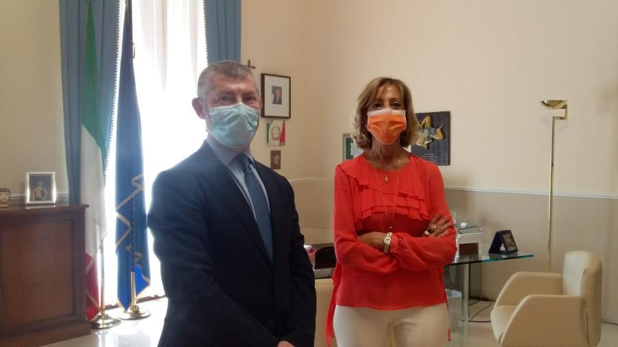 """images Il sottosegretario Scalfarotto a Catanzaro: """"La candidatura di Magorno è solida"""". E sulle liste: """"Sì alla pulizia ma i cittadini siano consapevoli """""""