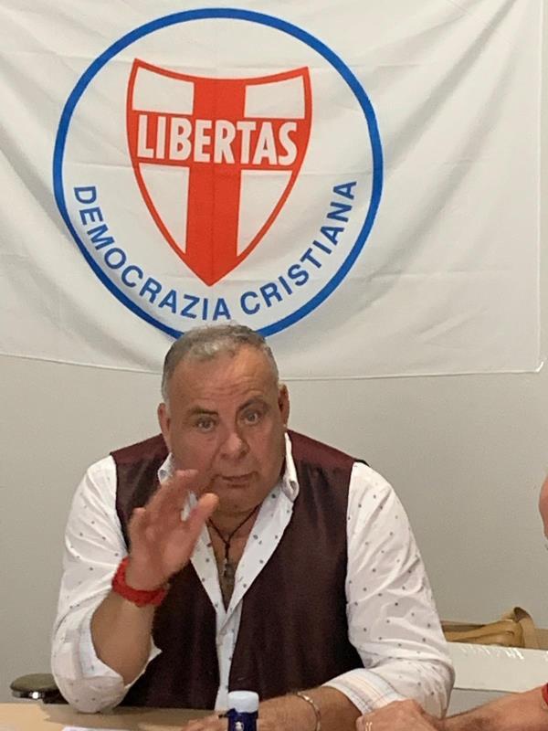 """images Cosenza. Zoleo: """"La Dc prende una linea centrista e a Cosenza per le comunali sosterrà la candidatura a sindaco di Francesco Pichierri"""""""