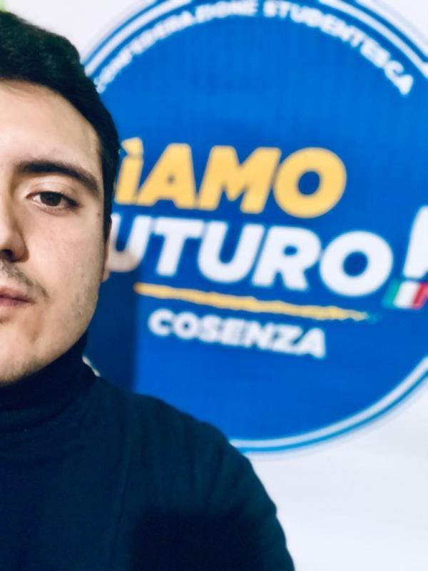 """images Nasce a Cosenza """"SìAmo Futuro"""": l'associazione Universitaria sarà guidata dallo studente Matteo Colla"""